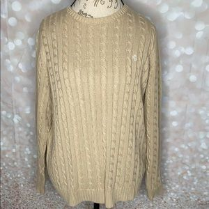 Lauren Ralph Lauren Cable Knit Crewneck Sweater